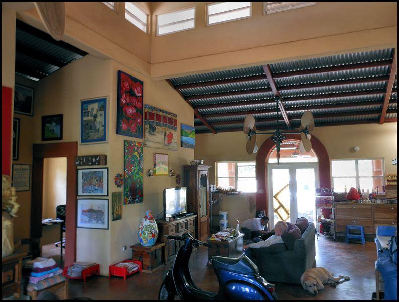 Casa John Pond, Carazo, Nic. Interior