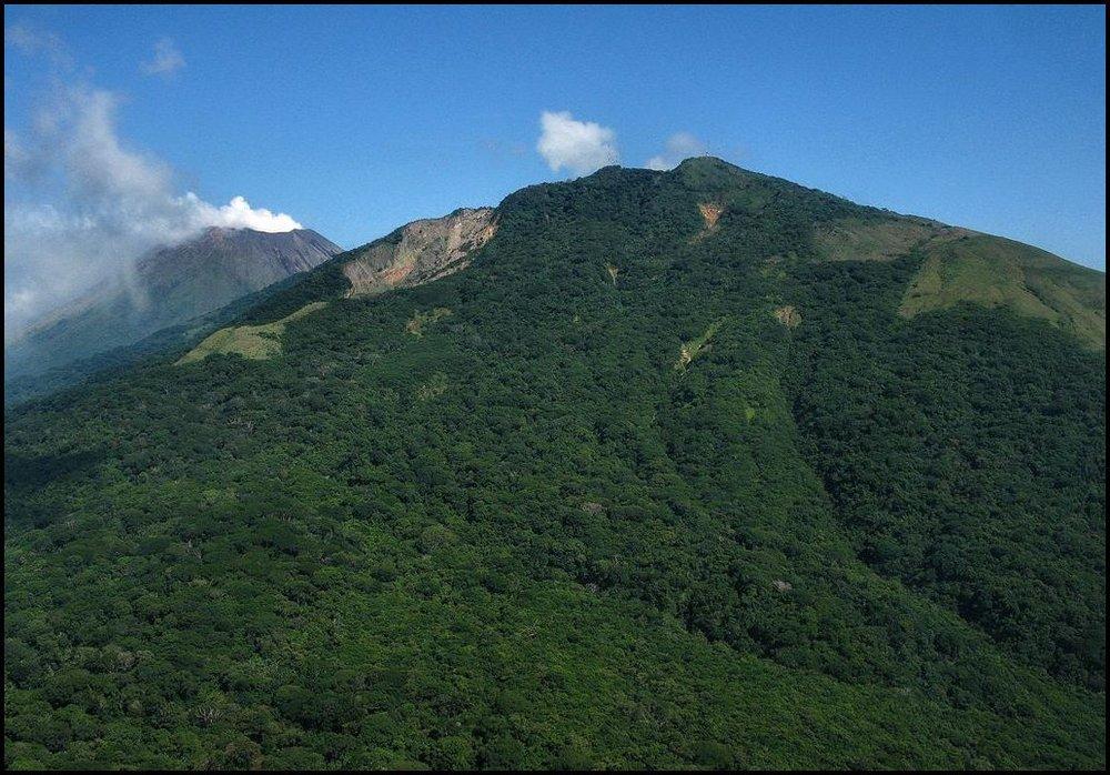 9- Casita Volcano- Chinandega, Nicaragua- Scar from the 1998 landslide