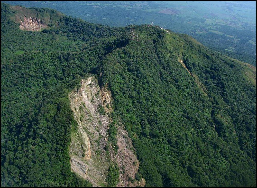 11- Casita Volcano- Chinandega, Nicaragua- Scar from the 1998 landslide