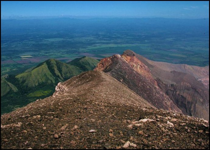 5- San Cristóbal Volcano- Chinandega, Nicaragua- View from the summit
