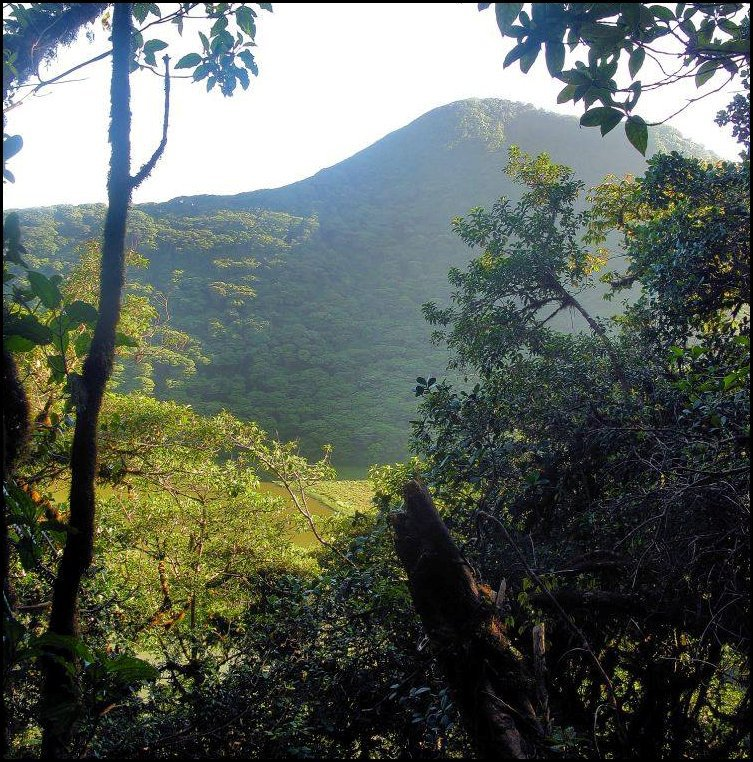 38- Maderas Volcano, Ometepe island- View from the summit