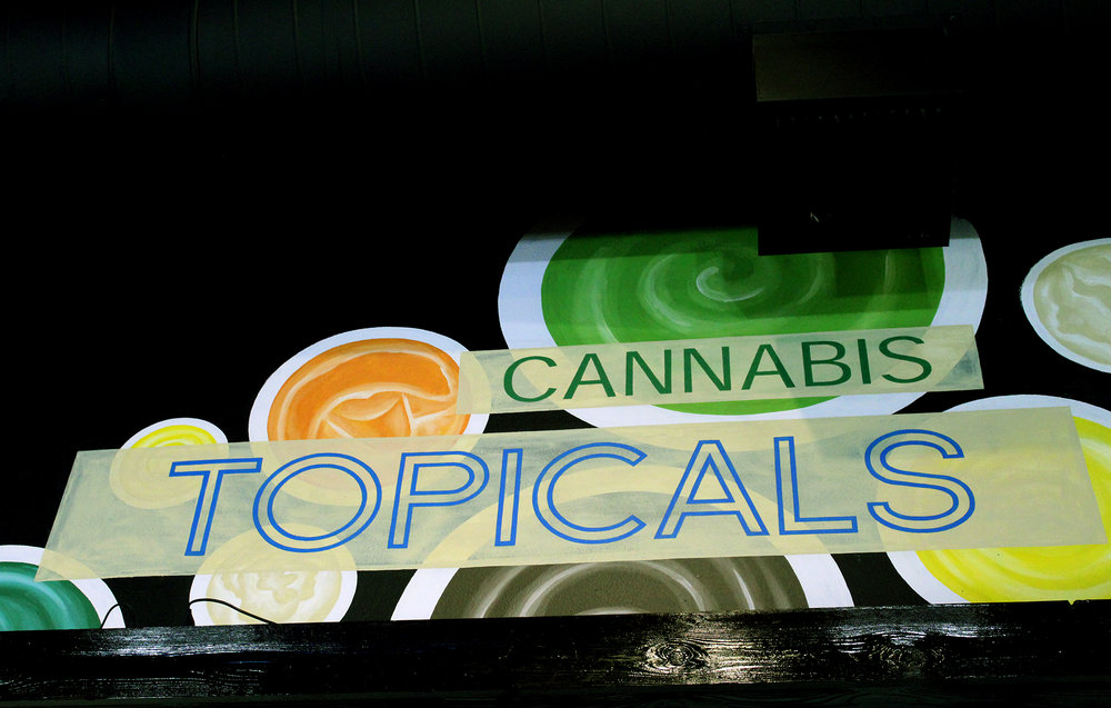 Topicals Sign
