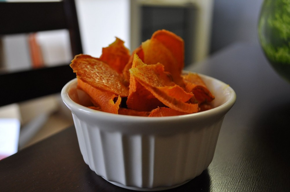 homemade sweet potatoes