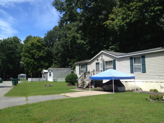 Manufactured home communities are an overlooked component of affordable housing. Any location with a history of wage-based employment likely has many parks nearby. This one is located in Newport News, Virginia.
