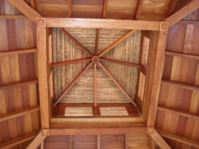 Teak Ceiling Casa Guanacaste