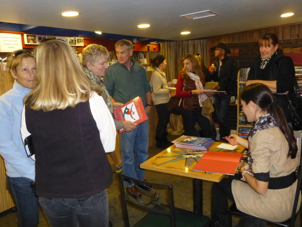 We loved all the interest in our book! ©2013