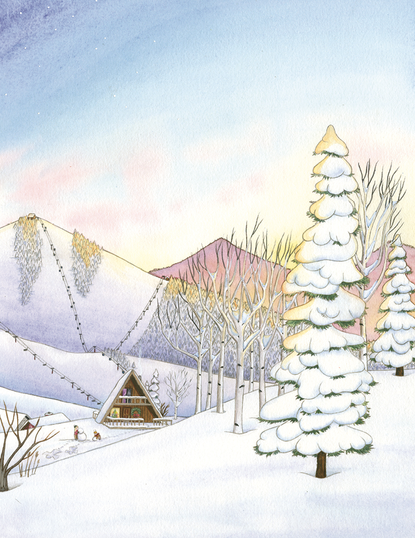 © 2013 The Night Before Christmas in Ski Country / Suzanne Nieman Brown / Dana Schlingman / / Westcliffe / Big Earth Publishers