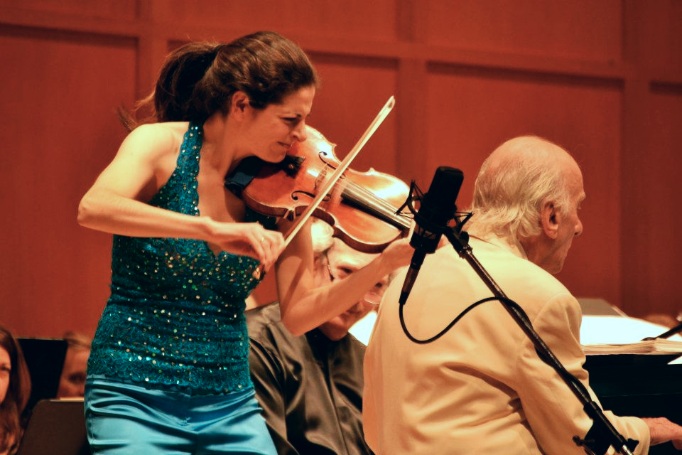 Violinist Lindsay Deutsch and Pianist Dick Hyman