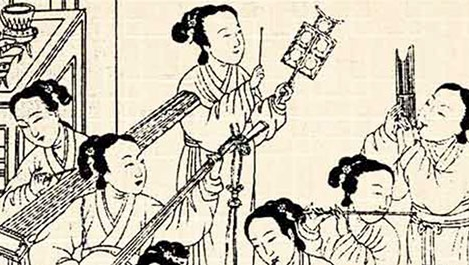 Musicians in ancient China 1122 BC