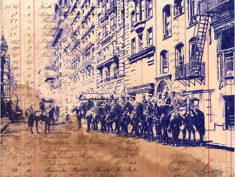 Daheim ist am schönsten - New York 1902