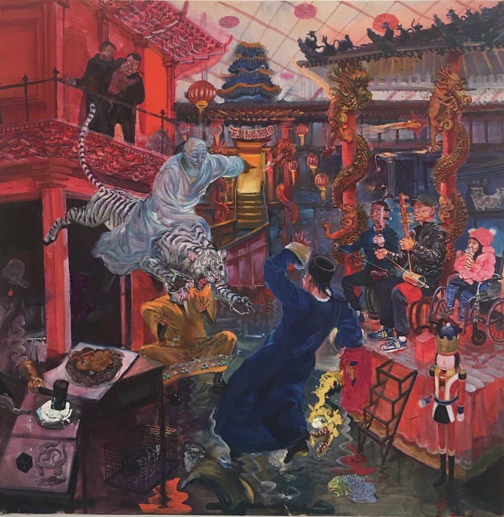 Die Versuchung des Heiligen Wu Songius