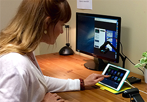 Mobile usability research   Testing the mobile experience on device and in person is how we roll. Can't make it? No worries., we webcast sessions in realtime HD.