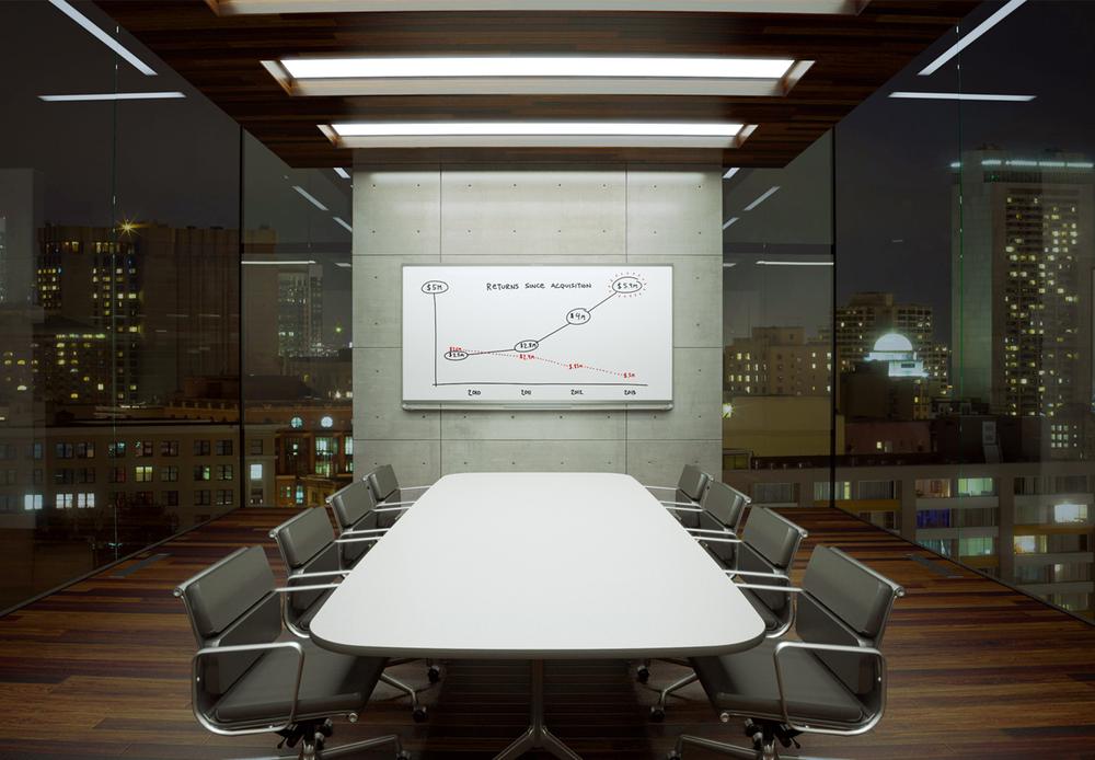 Prestige Whiteboard Chris Cunningham Design - Whiteboard conference table