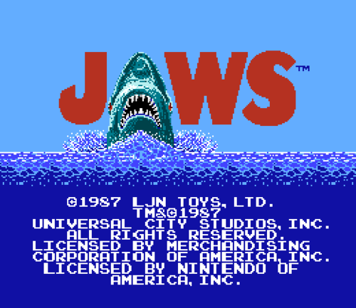 My first swim lesson was probably the same year this awesome video game came out.