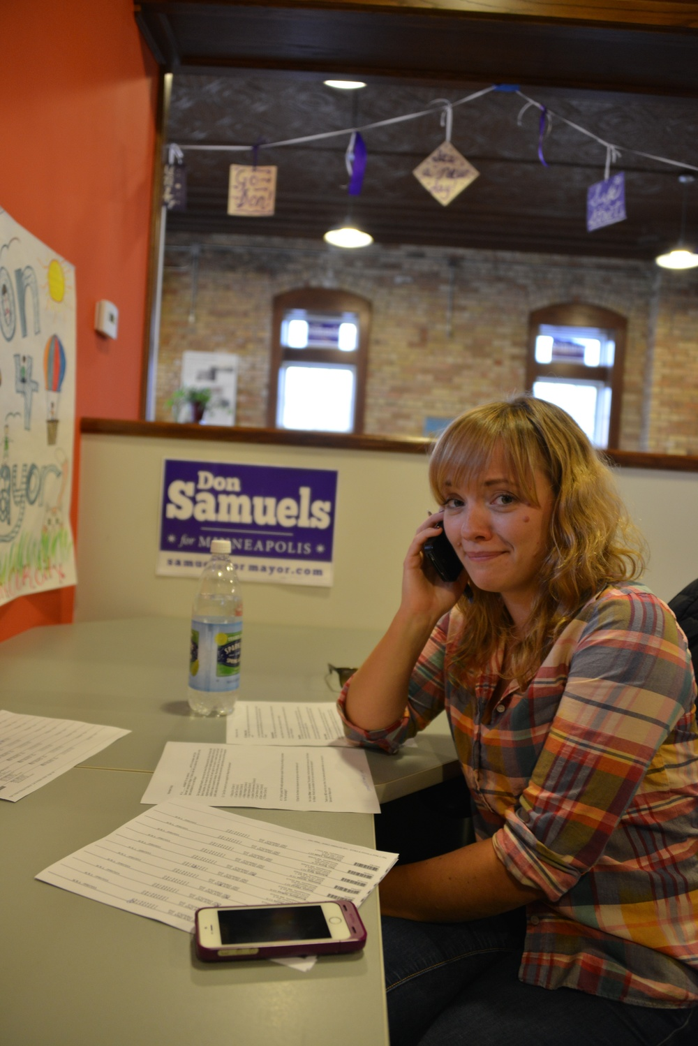 Hello ________! This is Molly and I am volunteering for the Don Samuels campaign for the mayor of Minneapolis. How are you today?