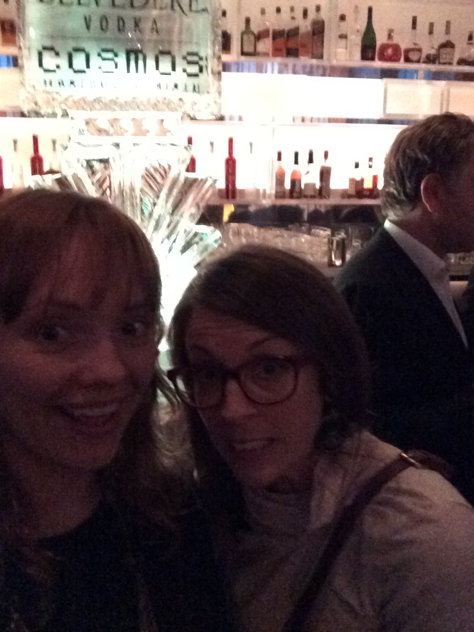 Day Two… at a really fancy party at the Graves Hotel with my palAllison.