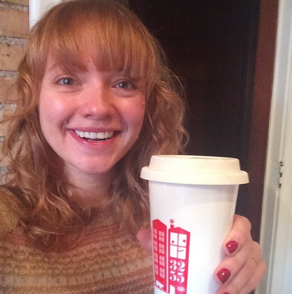 No Makeup Monday requires coffee. Just kidding, it's actually Schnapps.