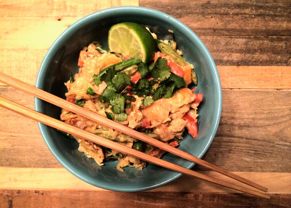 It took me until Day 6 to make this pad Thai, but I wish I'd done it on Day 1.