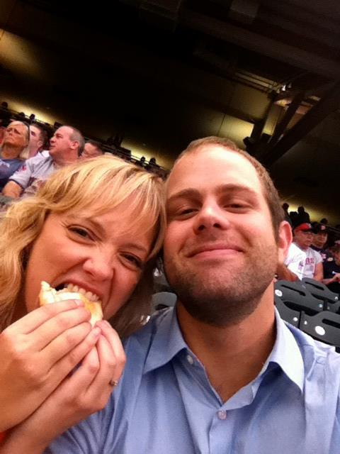 My three favorite things: Twins games, hotdogs and the beyonce.