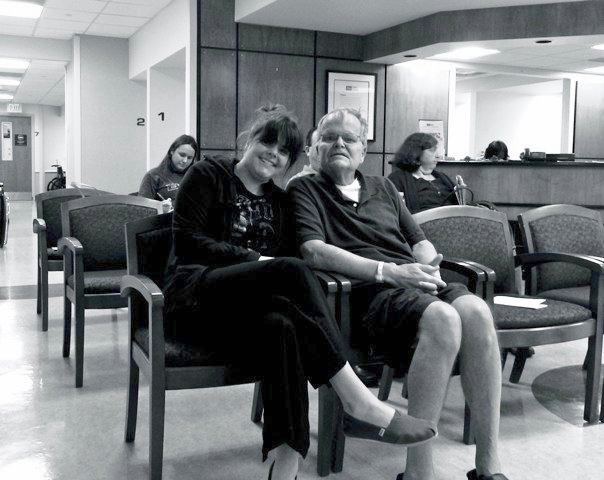 Hanging in the waiting room, pre-surgery.