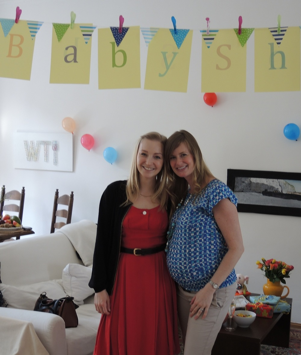 A baby shower... Germans, they're just like us!