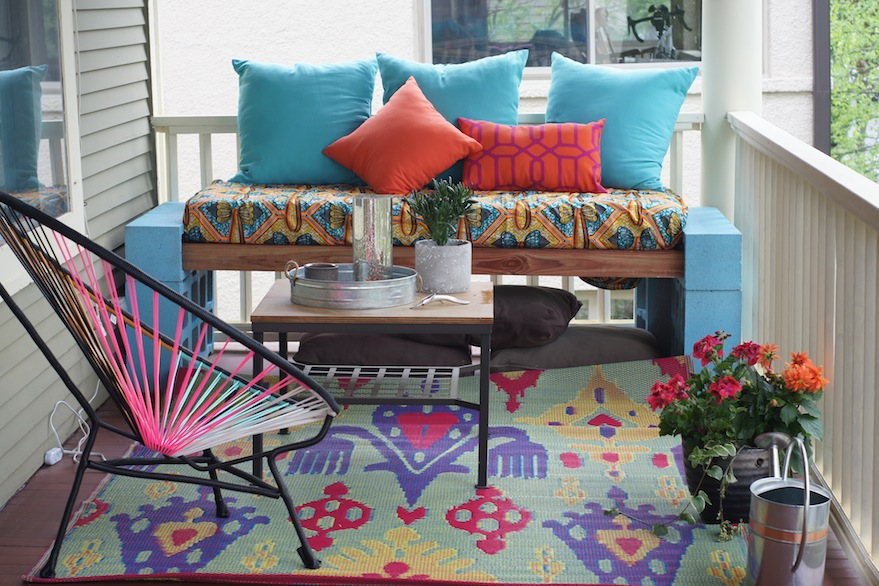 OMG, it's like I live at a fancy hotel or something! | How to Make an Awesome Outdoor Space on a Budget