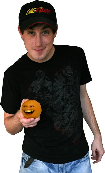 I'm not an orange, I just play one on YouTube.