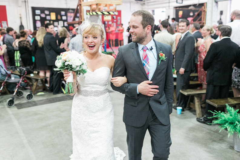 Let's party!  | Uppercut Boxing Gym Wedding - MPLS