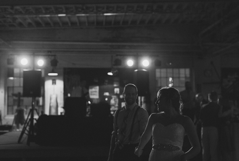Our first dance. | Uppercut Boxing Gym Wedding - MPLS