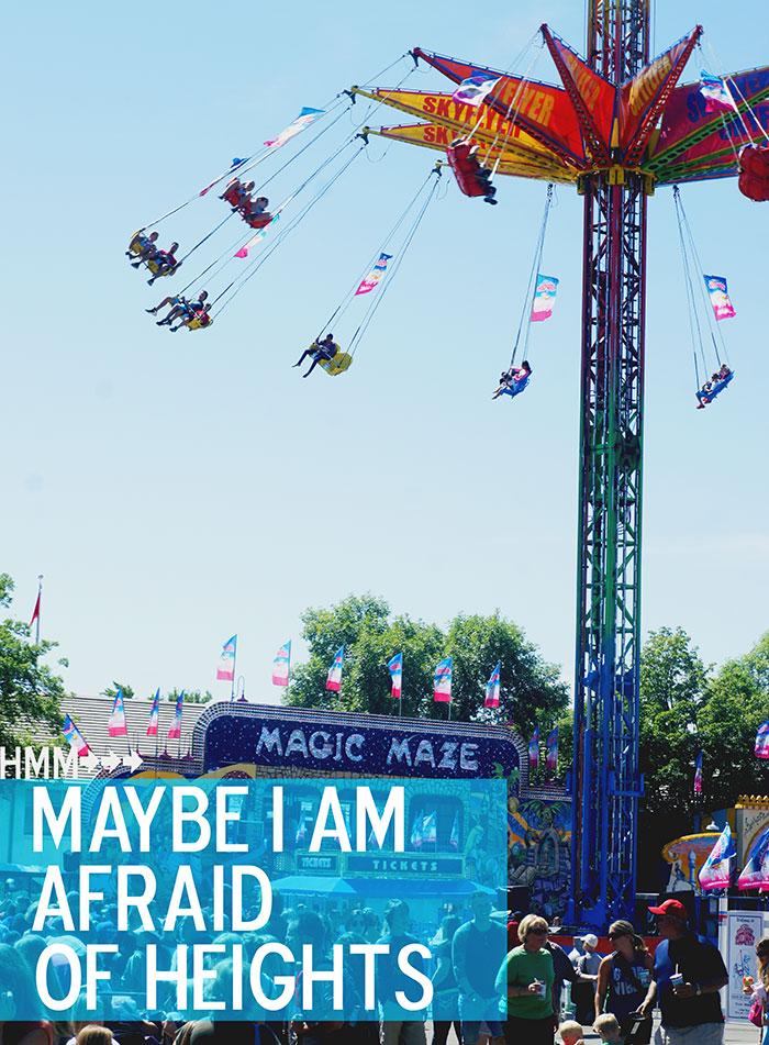 I'm not scared! I'm not scared! I'm not scared at all...hahahaha! | Minnesota State Fair