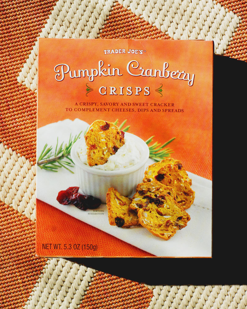 Why can't I quit you, Pumpkin Cranberry Crisps?!