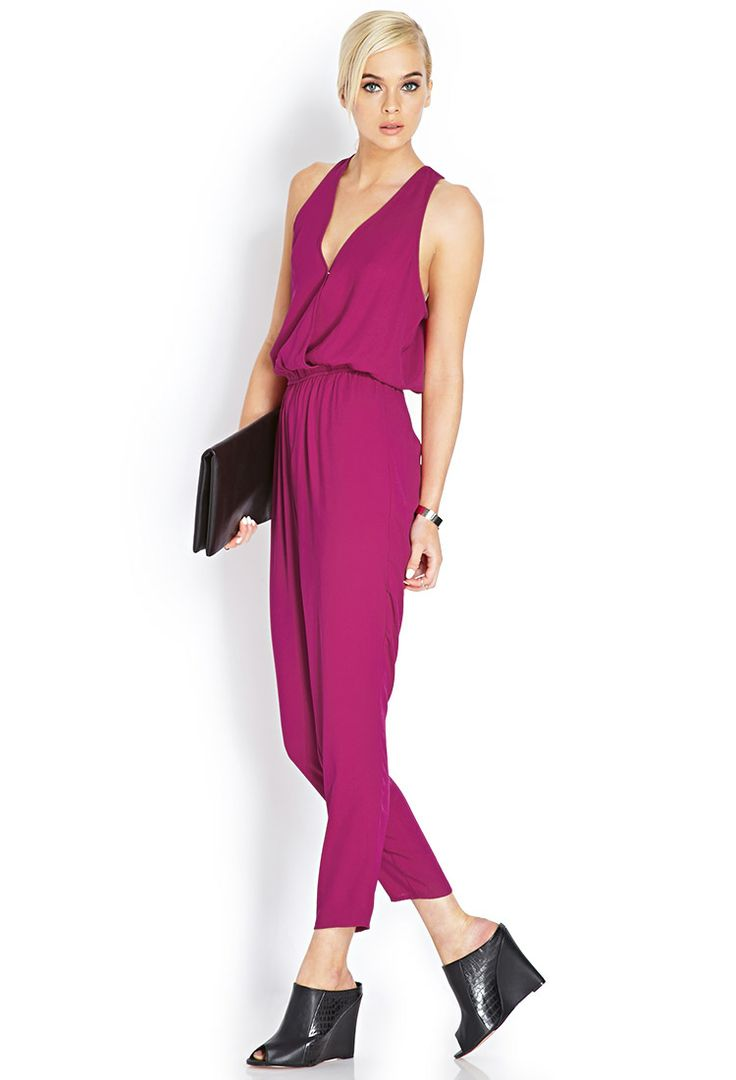 Ready or not, here I come... in a hot pink jumpsuit. Source: Forever21.com