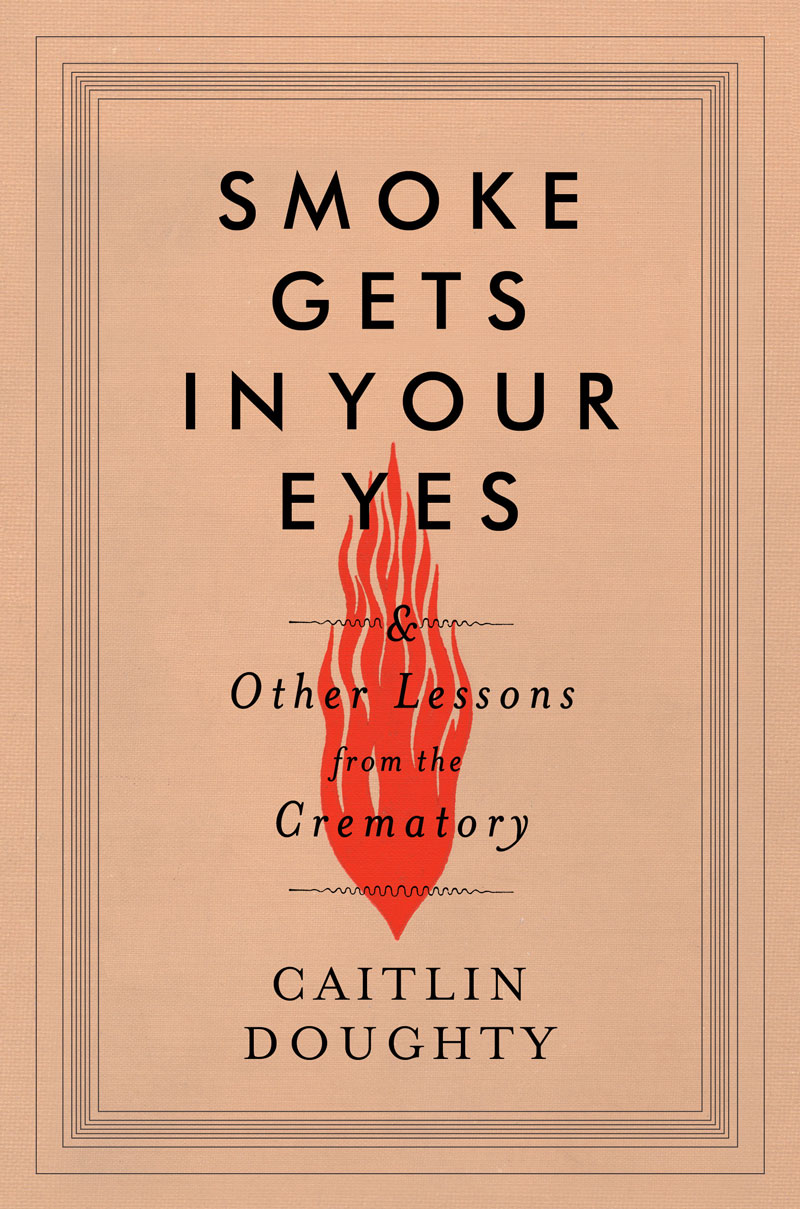 Caitlin's new book! Get it before it's cremated.