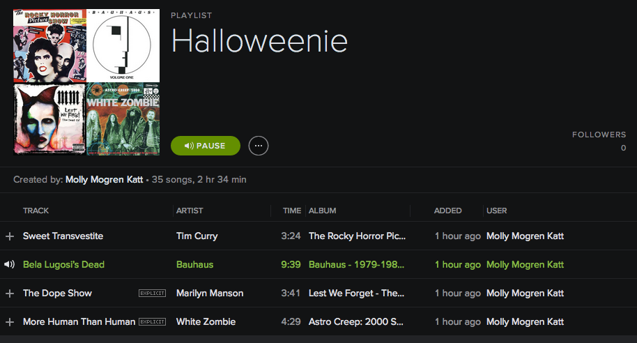 Halloween treats for your ears!