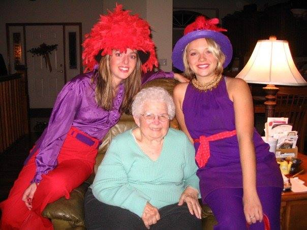 Red Hat Society meeting!
