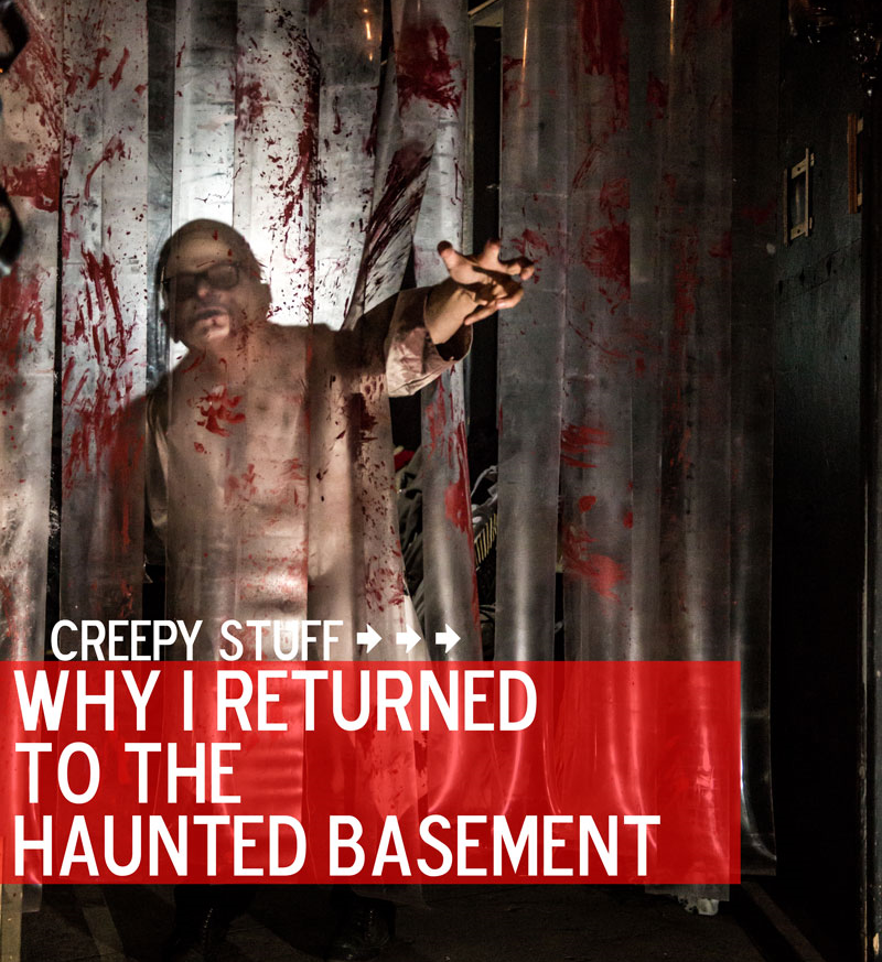 A nice pic from the folks at the Soap Factory's Haunted Basement. Cute, right? | Photo byDan Norman