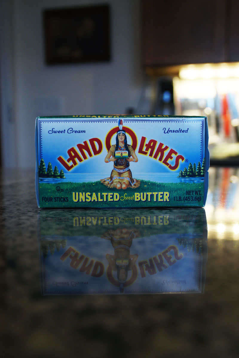 My go-to butter... mainly 'cause I just love that Land O Lakes lady.