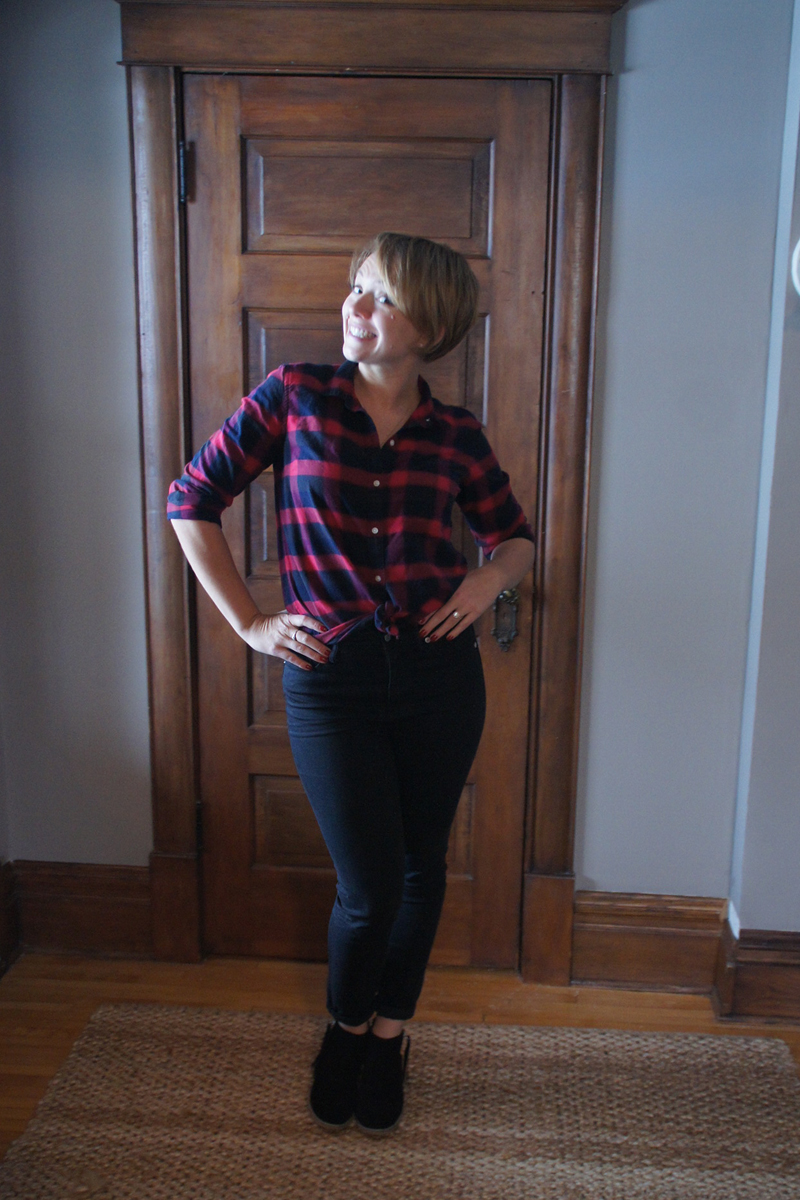 Ready to party, Paul Bunyan-style!