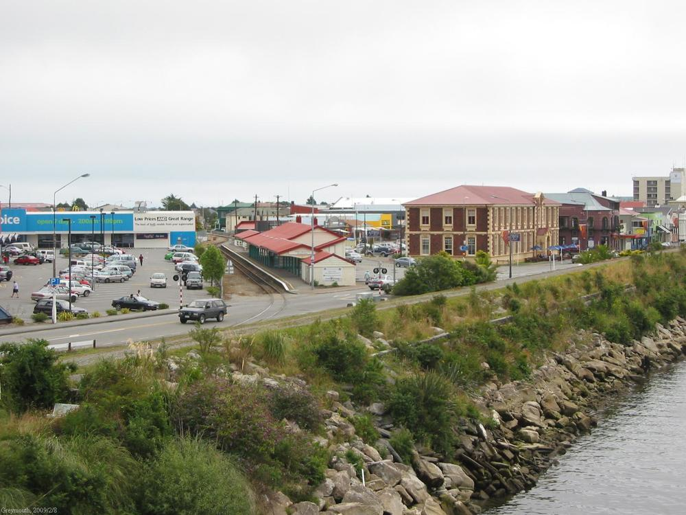 Greymouth: It's like New Zealand's Detroit! Photo by Kelsi