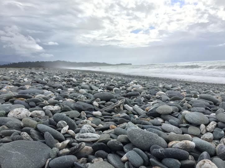 Gillespie Beach, New Zealand.