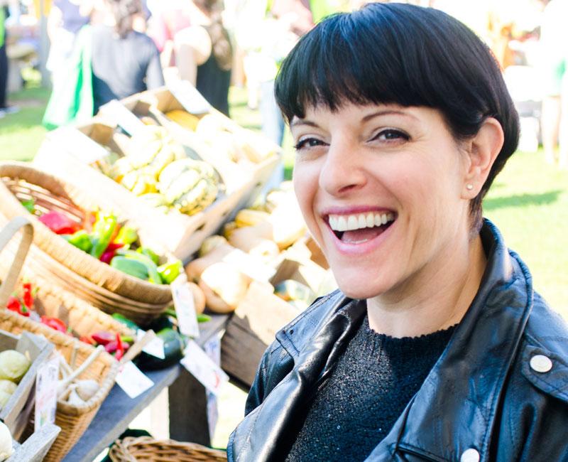 Farmers Market + Melissa = Love