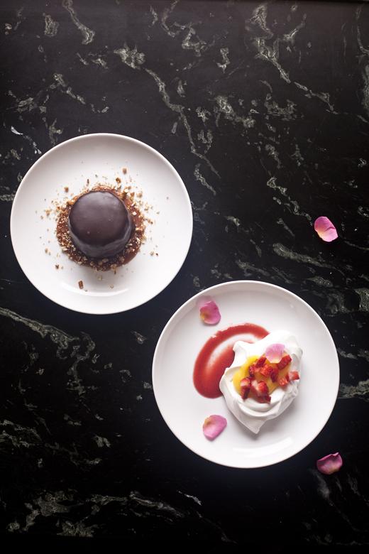 Ta-da! Pretty wedding desserts!