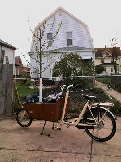 Morgen's dream ride.