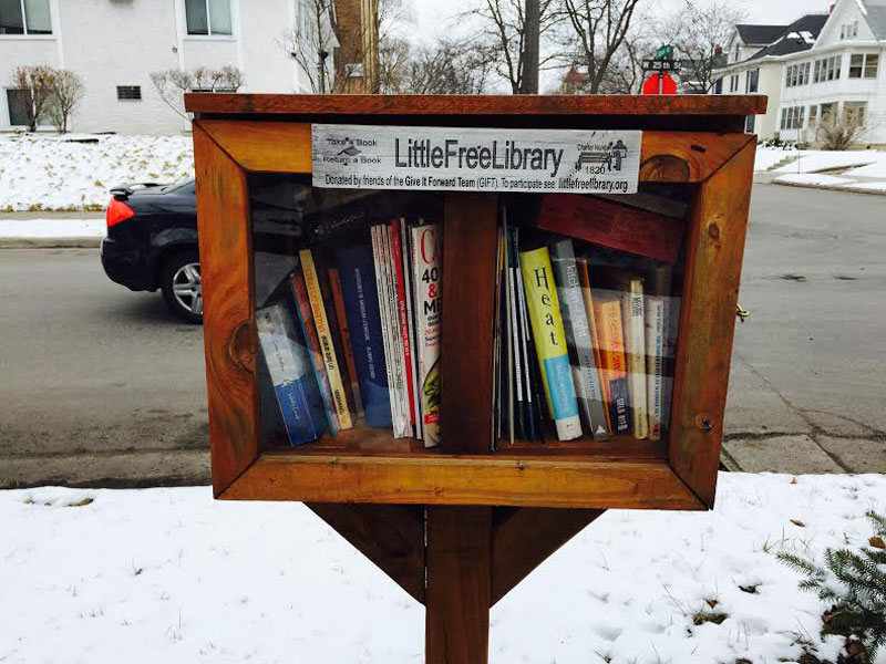 Little Libraries are the best!
