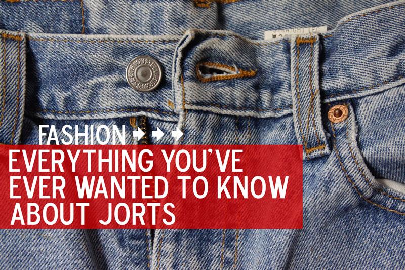 Cut-offs. Jean Shorts. Jorts.
