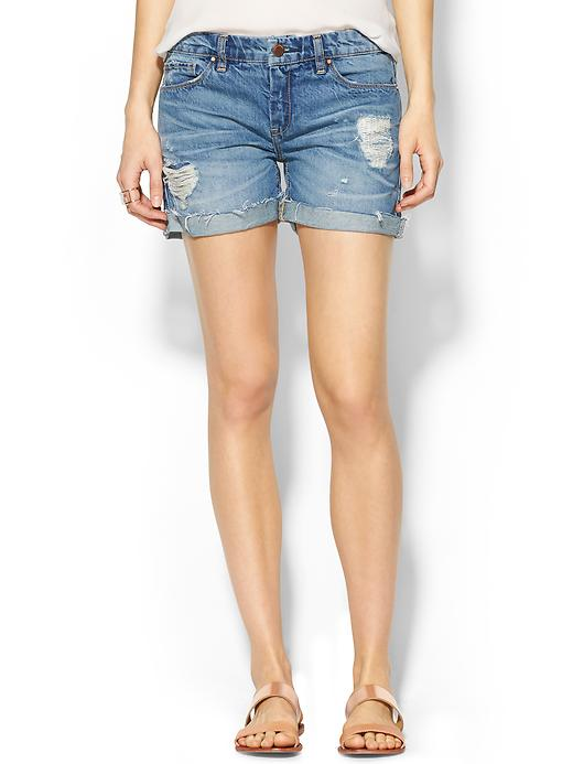 Cute mid-thigh distressed number | piperlime.com