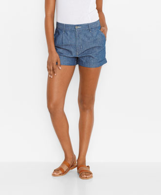 Preppy, chambray style.| levis.com