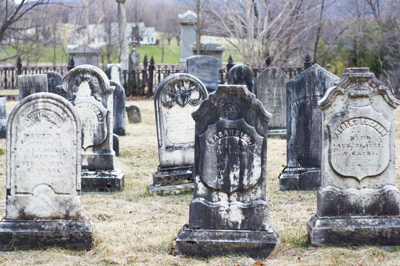 Danby, VT old skool cemetery.