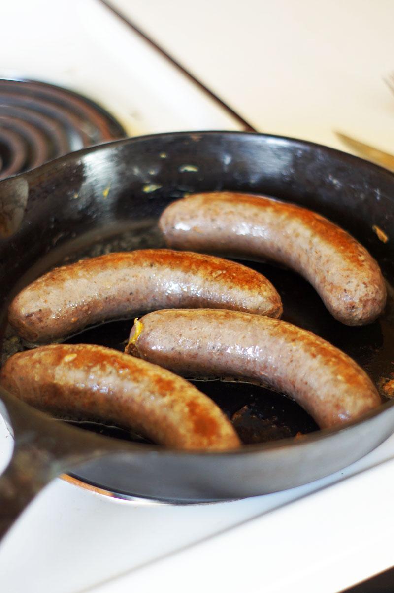 Bison sausage - Rutland, VT