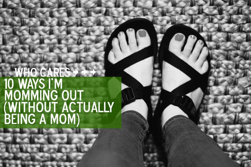 Exhibit A: Comfortable shoes.